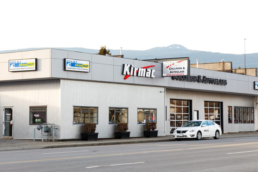 North Vancouver Auto Body Collision Repair Shop Kirmac